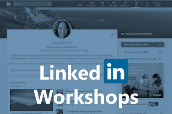 linkedin workshops